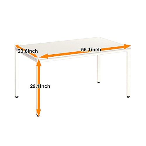 "Need Computer Desk Computer Table Writing Desk Workstation Office Desk, AC3DW-140, 55"""