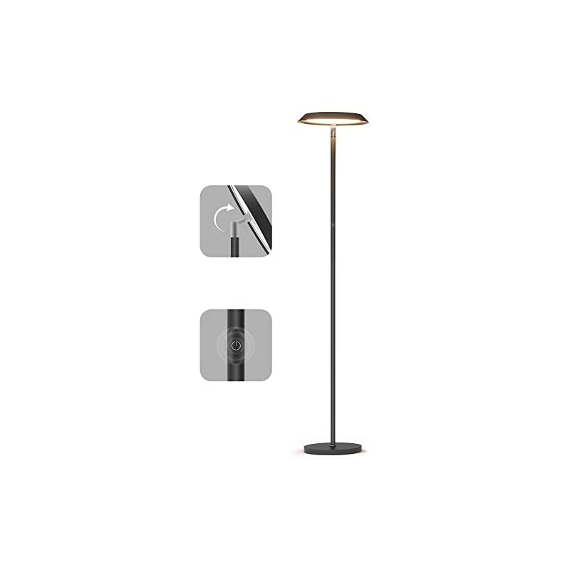 LED Floor Lamp,Dimmable Tall Floor Lamps
