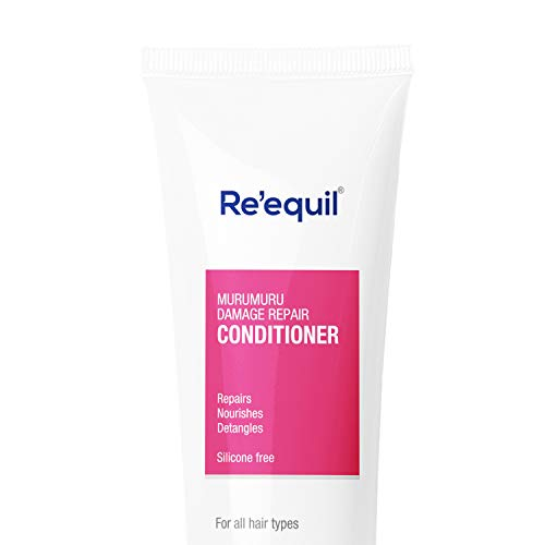 RE' EQUIL Murumuru Damage Repair Conditioner for All Hair Types, Silicone Free Conditioner - 150ml   Great for Curly Hair