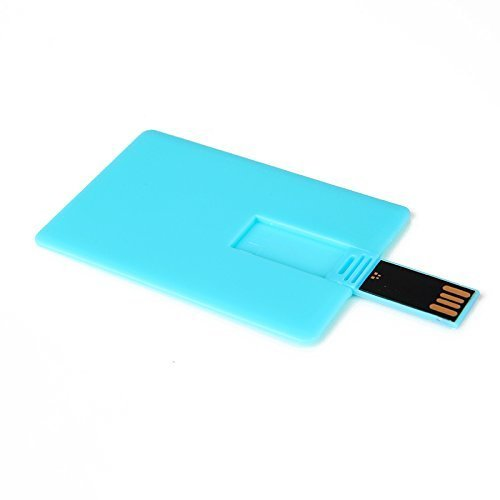 Enfain Wallet USB Flash Drives 1GB - 10 Pack ( 1GB, Blue Card)