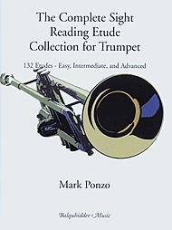 Carl Fischer The Complete Sight Reading Etude Collection for Trumpet Book -