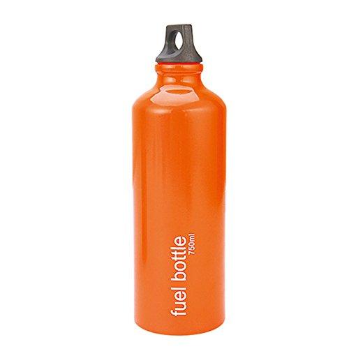 Aluminum Alloy 750ml Fuel Bottle Oil Stove for Flat Tank - 1