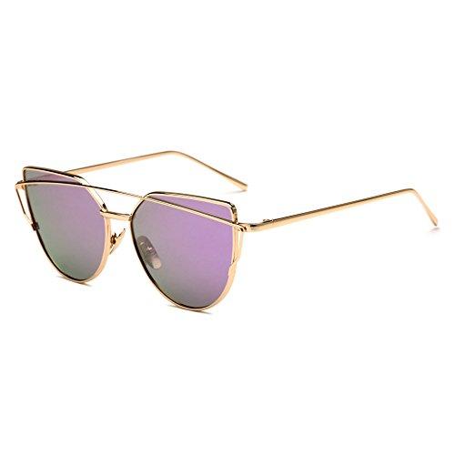 para De De Gafas L Sol Sol De Gafas De Hombre De Colores Decorativas Gato Ojo O Mujer De Metal Sapo JUNHONGZHANG Gafas Sol HF6w4xP6