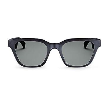 Bose Frames Audio Sunglasses, Alto, Black with Bluetooth Connectivity , 52 mm
