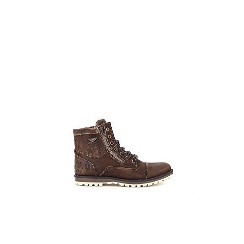 Bullboxer 541-K8-5018A Botas de cordones Hombre marrón, EU 45