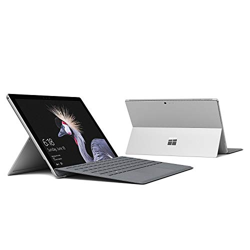 Microsoft Surface Pro 5th Gen 12.3' PixelSense TouchScreen (2736x1824) 2-in-1 Tablet Laptop: Intel Core i5-7200U, 256GB PCIe NVMe SSD, 8GB RAM, Wi-Fi AC MIMO, Windows 10 Pro (with Platinum Type Cover)