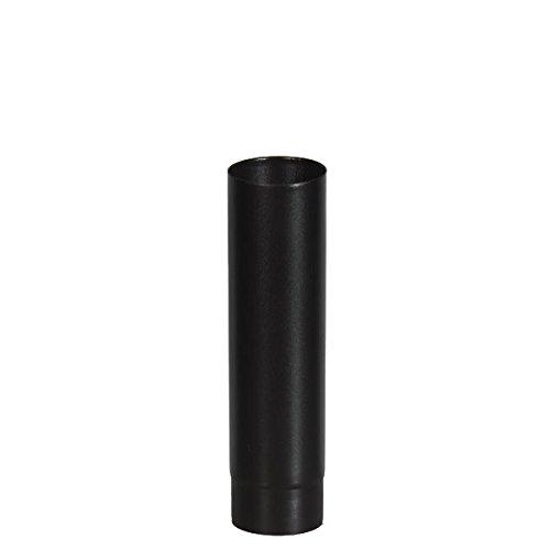 ChimFit 4' 500mm Straight Length Of Vitreous Enamelled Flue Pipe For Wood Bur...