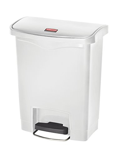 - Rubbermaid Commercial Products Slim Jim Step-On Plastic Trash/Garbage Cans