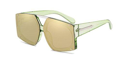 lunettes métallique rond Lennon Local vintage inspirées soleil en du retro style de polarisées cercle Or H1ArFH
