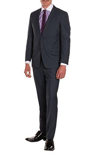 42R Ferrecci HART Navy Slim Fit 2pc Suit (Summer Suit)