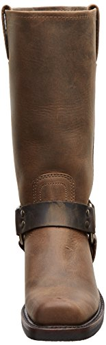 FRYE Damen Harness 12R Boot Tan Crazy Horse-77300