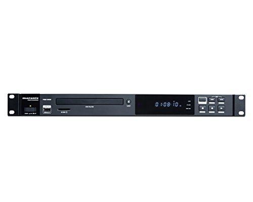 - Marantz Professional PMD-500D | Commercial Media Player for DVD, SD/SDHC, and USB with Multi-Output Options