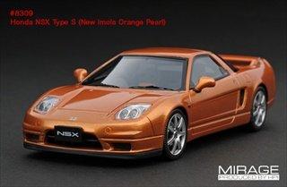 【hpiracing/MIRAGE】1/43 ホンダ NSX Type S ニューイモラオレンジパール B004K2OYN8