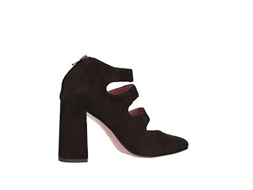 ALBANO 7052 Zapato Alto Mujer negro