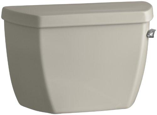 Kohler K-4484-RA-G9 Highline Classic 1.0 gpf Toilet Tank with Right-Hand Trip Lever, Sandbar