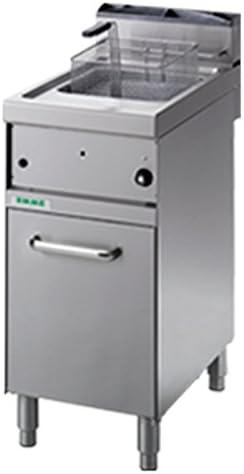 fimel – Freidora a gas de 10 Lt sobre Compartimiento cerrado de acero inoxidable profesional tamaño l.40 X p.70 X h90 cm): Amazon.es: Hogar