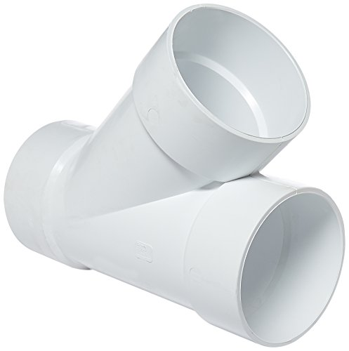 Genova Products 71060 Wye Pipe Fitting, 6