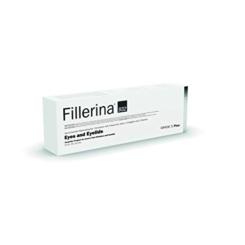 Fillerina 932 Eyes and Eyelids - Eye Treatment That Fills In Under Eye Hollowness, Smooths Crows Feet, and Tightens Eyelids – Hyaluronic Acid and Collagen Eye Treatment (Grade 5) by Fillerina (Image #1)