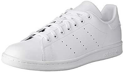 adidas Men's Stan Smith Trainers, Footwear White/Footwear White/Footwear White, 10 US