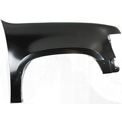New Front Right Passenger Side Fender For 2007-2014 Chevrolet Tahoe Made Of Steel GM1241333