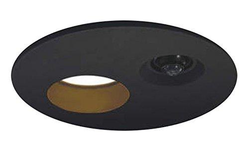 コイズミ照明 人感センサ付ダウンライト タイマー付ON 白熱球60Wクラス ブラック AUE651073 B008U4II52