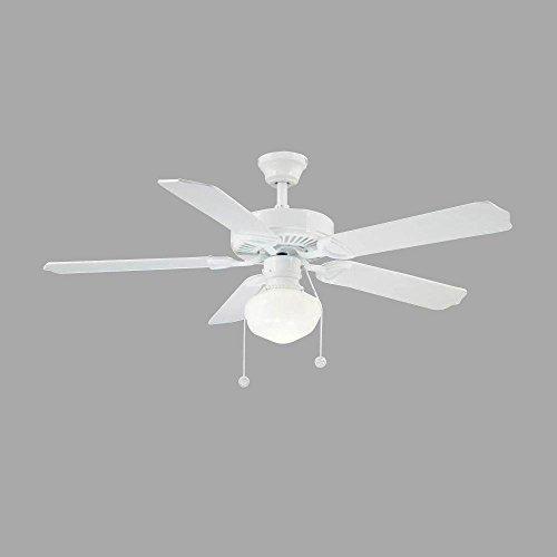 Hampton Bay Trimount 52 in. Indoor White Ceiling Fan