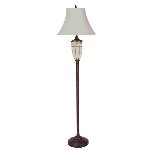 Ore International Victorian Floor Lamp With Night Light