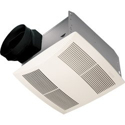 NuTone Premier Ultra Silent Ceiling Exhaust Bath Fan, Sound Level 1.5 SONES, 130 CFM (Air Movement) ENERGY (Ultra Silent Series)