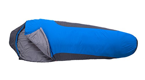 Campsod 32°F-46°F Mummy Sleeping Bag Lightweight for Cold Weather Outdoor Camping,Backpacking,Hiking with Compression Sack