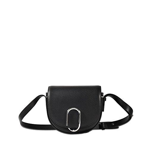 1 Alix Lim Saddle 3 Shoulder Mini Bag Black Lim Leather Black 1 Phillip 3 Phillip Women's 1qad1C