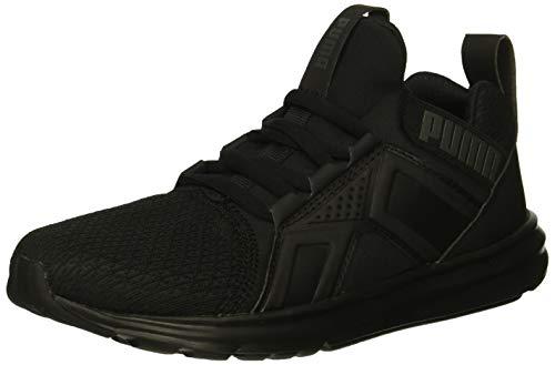 PUMA Unisex Enzo Sneaker, Black, 12 M US Little Kid ()