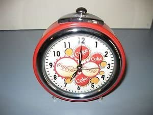Coca Cola Quartz Alarm Clock