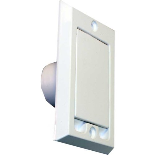 HAYDEN CANPLAS 791700W Plastic Square-Door Valve (Round Petcock)