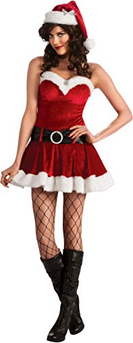 Secret Wishes Christmas Collection Ms. Santa In Training Costume, Red, Small -
