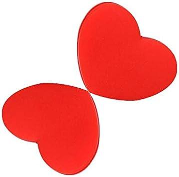 2 pieces Red Heart Tennis Racquet Vibration Dampener Shock Absorberracquet dampe