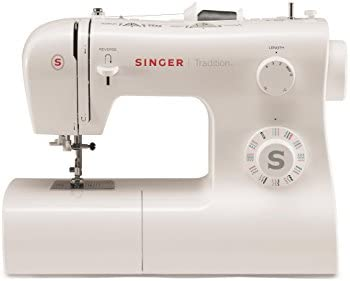 Singer 2282 Tradition - Máquina de coser mecánica, 32 puntadas, Blanco: Amazon.es: Hogar