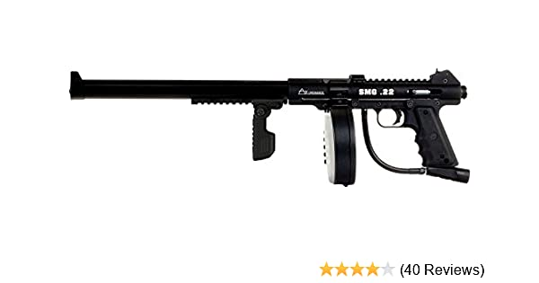 Amazon com : SMG 22 Full Auto Belt Fed Pellet Gun : Hunting Air Guns