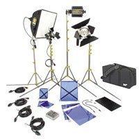 Lowel DV Creator 44 Kit, Analog & Digital Video Lighting Location Kit, with LB-35 Soft Case by Lowel