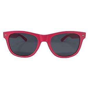 Pink Sunglasses Hot Retro Frame Replica Wayfarer For Women Men Adults Kids