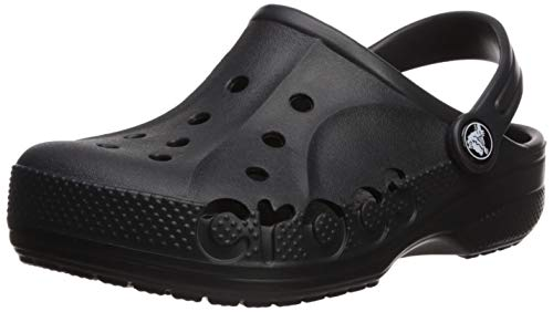 Crocs Unisex-Kid's Baya Clog, Black, 3 M US Little Kid M US Little Kid