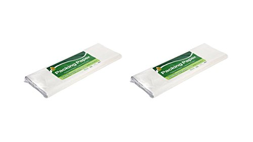 Thermal Transfer Labels Fan (Duck 24 in. x 24 in.White Moving Packing Paper - 240sheets)