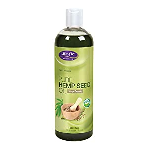Life-Flo Pure Hemp Seed Body Oil, 16 Ounce