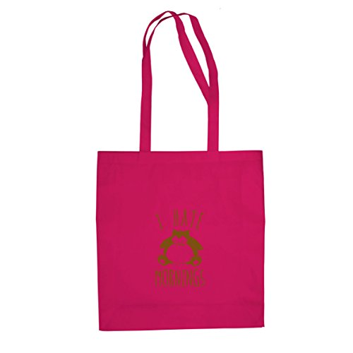 Snorl Mornings - Stofftasche / Beutel, Farbe: pink