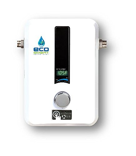 EcoSmart ECO 11 Electric Tankless Water Heater, 13KW at 240 Volts with Patented Self Modulating Technology -
