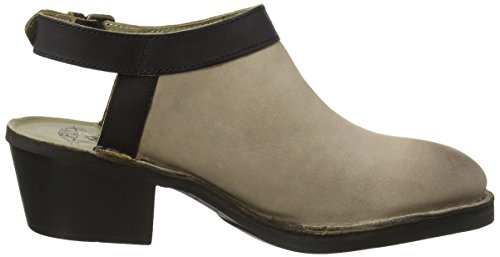 Fly London P210894010, Zapatos de Tacón Mujer Gris (concrete/black 011)