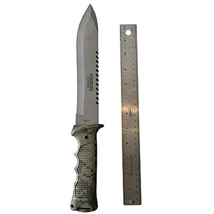 Amazon.com: Cuchillo de caza táctico de combate de ...