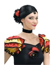Spanish Senorita Adult Wig (Adult Spanish Dancer Costume)