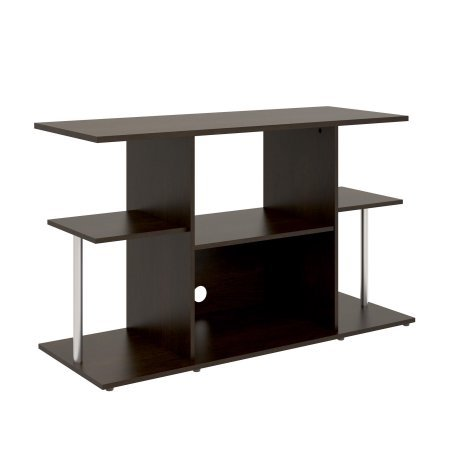 Mainstays Unique Entertainment TV Stand Cabinet Console for Flat Screen TVs up to 42