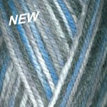 Plymouth Encore Worsted Colorspun Yarn 8002 Blue / Grey (Encore Worsted)