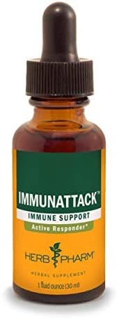 Herb Pharm Immunattack Liquid Herbal Formula for Immune System Support – 1 Ounce